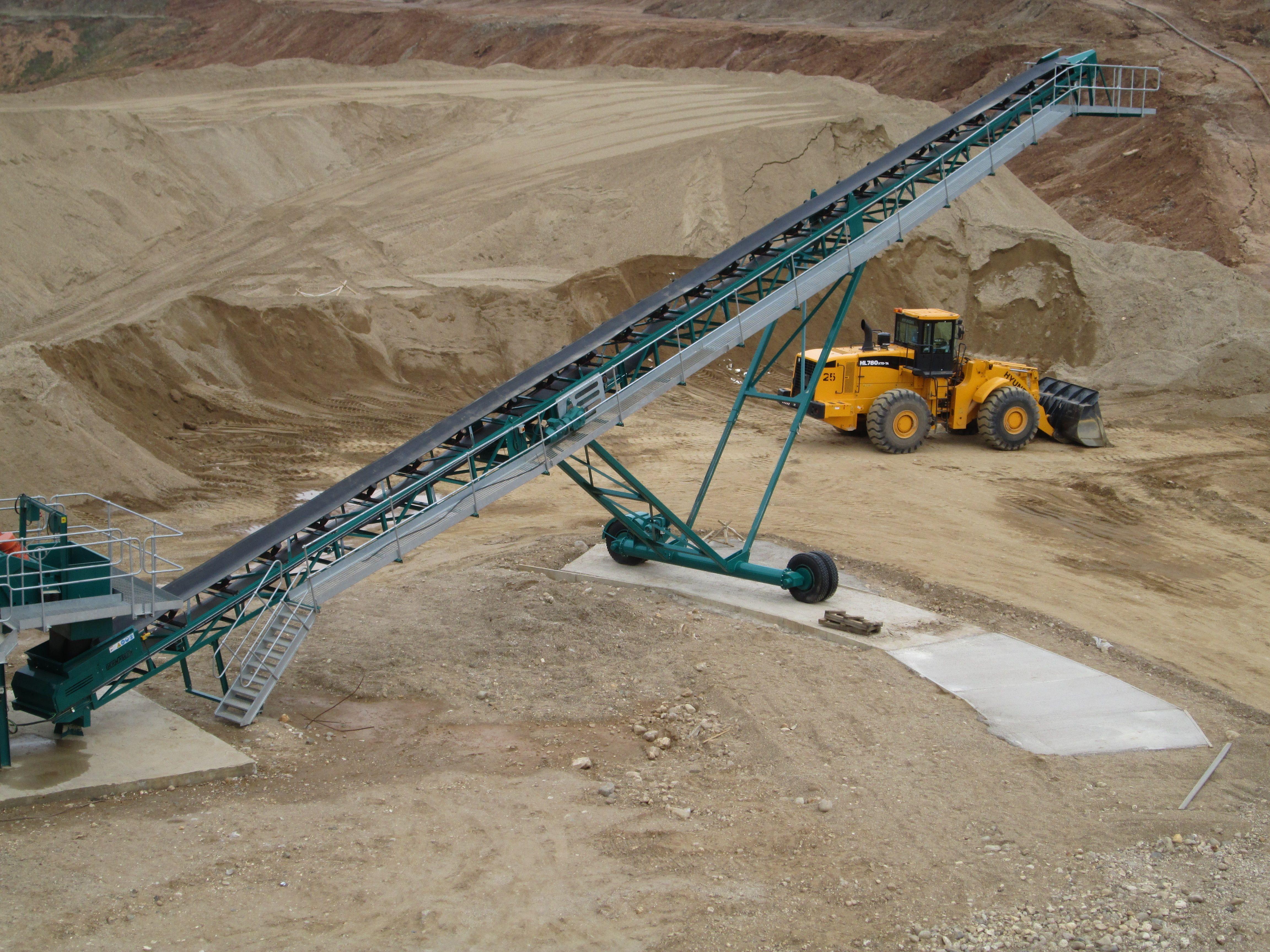 Conveyors And Stockpilers Dernaseer Engineering