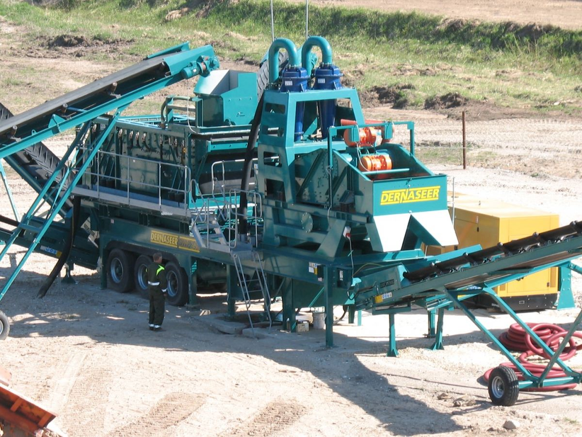 Mobile Washing Plants Dernaseer Engineering